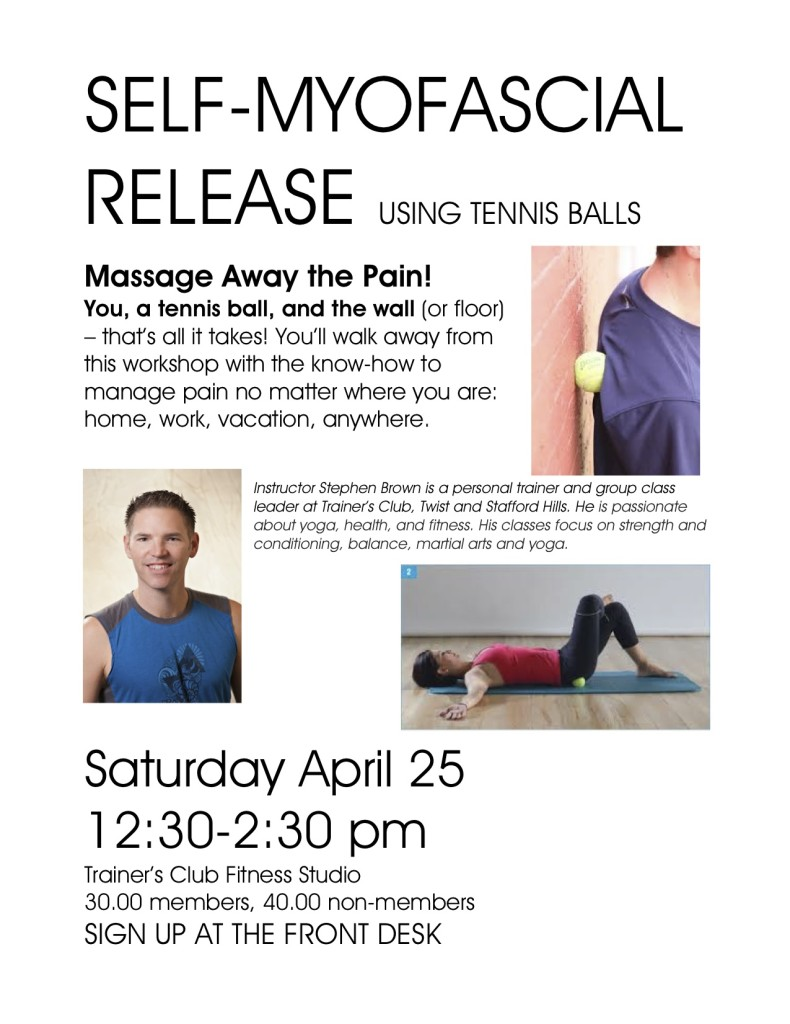 Self Myfascial Release