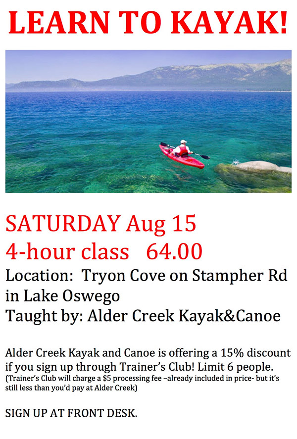 learn-to-kayak